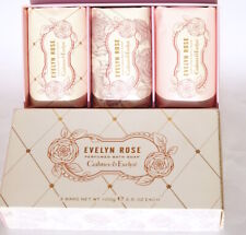 Crabtree & Evelyn Evelyn Rose Seife 3x100g