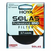 HOYA SOLAS ND500 (2.7) 9 Stop IRND Neutral Density Filter