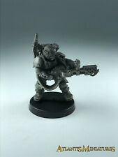 Metal Imperial Guard Kasrkin Storm Trooper Flamer - Warhammer 40K X818