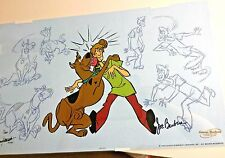 Hanna Barbera Cel And Scooby Doo Makes Two Rare Number 1 Edition Signed Cell Art