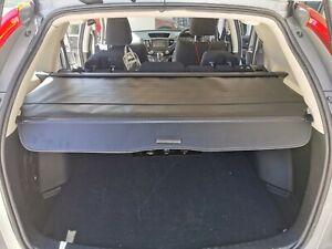 Black Cargo Trunk Retractable Luggage Blinder Shelf for Honda CRV CR-V RM 12-17