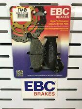 GSXR1000 K7 K8 REAR BRAKE PADS FOR SUZUKI 2007 TO 2008 EBC FA419