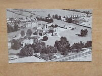 VINTAGE POSTCARD - TAUNTON SCHOOL FROM THE AIR - SOMERSET