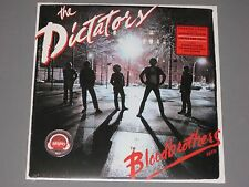 THE DICTATORS  Bloodbrothers LP Ltd Ed Red Vinyl   New Sealed Vinyl SYEOR