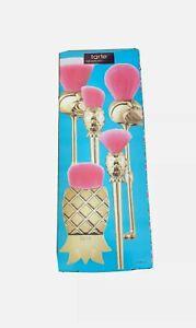 TARTE Let's Flamingle Brush Set (Great $136 Value Set) 2018 Holiday Gift NIB