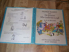 Prince Rabbit & The Princess Who Could Not Laugh by A A Milne 1st DJ ILLUS 1966