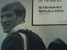 news item 1973 football stewart scullion watford golf article