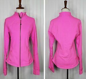 Lululemon Women's Full Zip Define Jacket Size 10 Hot Pink