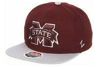 New Zephyr Adjustable Snapback Mississippi State Hat/Cap Licensed NCAA NEW