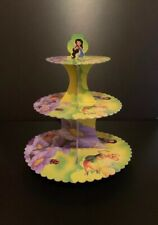 Cardboard Cupcake Stand Tinkerbell Party 3 X Tiers
