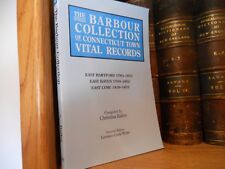 Barbour Connecticut Town Records East Hartford East Haven East Lyme