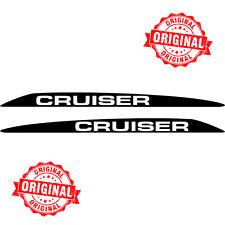 TOYOTA LANDCRUISER CRUISER 76 70 78 79 SERIES BONNET SCOOP STICKERS DECAL V8