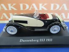 Die cast 1/43 Modellino Auto Duesenberg SSJ 1933