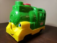 Fisher Price Little People Friendly Passenger Train Sound Phrases Light Tested