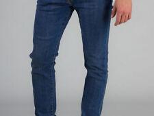 Jeans da uomo rilassato medio blu