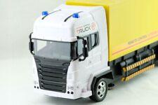 XXL Truck RC,super speed Spielzeug LKW mit TRAILER Länge 51cm 27MHz LED Licht