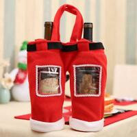 Santa Pants Christmas Candy Bags Wine Stocking Bottle Gift Bag Xmas Decor LE