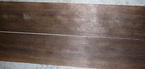 """Fumed Oak  wood veneer 6"""" x 98"""""""