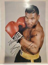 Mike Tyson Autographed 8x10 Photo