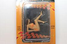 1:18 personnage | Sexy Lady | Pinup Girl | presque Women | 1:18 Diorama | Motorhead Mini