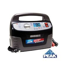 PEAK 15 Amp Heavy Duty Smart Automatic Battery Charger with Inflator PKC0C15G