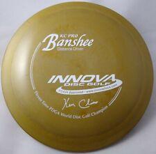 Rare! Pearly Gold Innova 11x KC Pro Banshee - 175 grams, 7.5/10, Gorgeous!