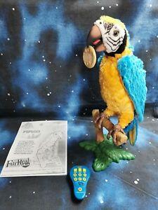 FurReal Fur Real Friends Hasbro Papagei COCO Fernbedienung Ara Ast Keks