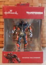 Hallmark 2017 Transformers The Last Knight Ornament Red Box New