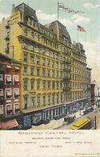 NEW YORK CITY - Broadway Central Hotel (Broadway Corner of 3rd Street) - udb