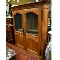 Antique French Pine Kitchen Cupboard Cabinet