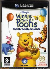 GameCube Games PAL Buy 1 Get 2nd at 20 off 1st Class UK Postage Winnie The Poohs Rumbly Tumbly Adventure