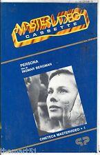 Persona (1966) VHS MasterVideo  1a Ed.  Ingmar   Bergman Liv Ullman