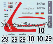 Additional decal 1/43 March 751 F.1 #29 German/Italy GP Lombardi & USA GP Stuck
