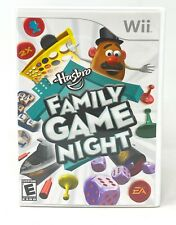 Hasbro Family Game Night (Nintendo Wii, 2008) Complete With Manual And Case