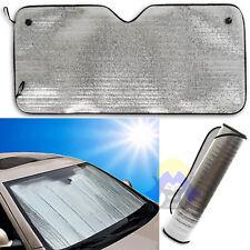 PARASOLE per AUTO Alluminio CRUSCOTTO Sole ANTERIORE Universale MACCHINA Freddo