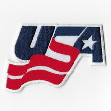 NHL USA Hockey Team Iron on Patches Embroidered Emblem Applique Badge Sew