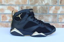 best service 6defe 197af Men s Nike Air Jordan 7 VII Retro Black Gold GMP Golden Moments Pack 304775  030