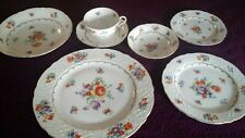 Schumann Bavaria Us zone Bouquet Dresden Pattern Dinnerware+Serving Pieces