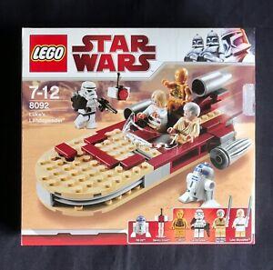 LEGO Star Wars 8092 Luke's Landspeeder. Complet boîte et notice.