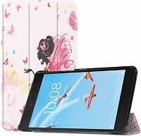 Design Smart Case Cover for Lenovo TAB E7 7 Tablet + Glass Screen Protector