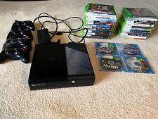 Microsoft Xbox 360 E 250Gb Game Console w/ 4 Controllers and 29 Games