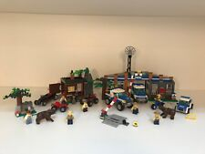 Lego City Forest Robber's Hideout 4438, Police Station 4440, Police Car 4436 Lot