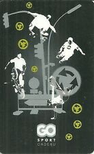 RARE / CARTE CADEAU : GO SPORT - MULTISPORT BOUTIQUE SHOP SKATE ROLLER BMX /CARD