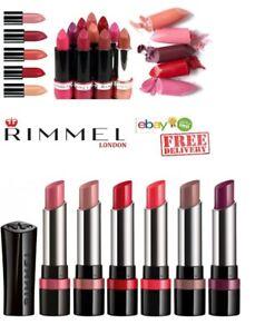 RIMMEL SAMPLE CASE  LASTING FINISH   The Only 1 Matte Lipstick