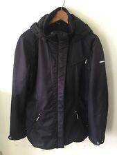 SUNICE Deluxe Ski Collection Black Winter Jacket Woman's Sz 10 M