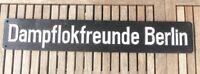 Lokschild Dampflok der Dampflokfreunde Berlin des Museums in Berlin- Schöneweide