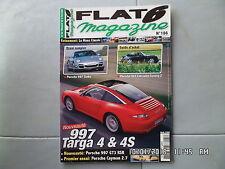 FLAT 6 N°186 08/2006 PORSCHE 997 TARGA 4 guide achat 964 Cabriolet Carrera   J37
