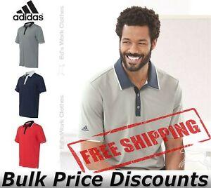 Adidas Men Golf Climacool Performance Colorblock Sport Shirts poly A166 upto 4XL
