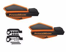 Powermadd Kawasaki KFX400 Star Handguards Guards Black/Orange