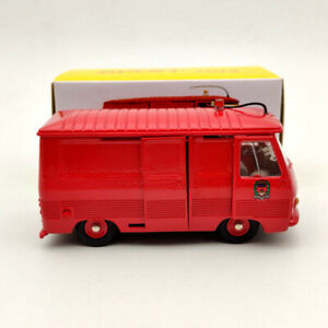 Atlas Dinky Toys 570 P Fourgon Peugeot J7 Version Pompiers Diecast Models 1:43